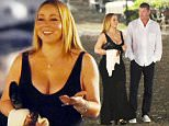 2.SEPTEMBER.2015 - PORTOFINO - ITALY ***EXCLUSIVE PICTURES*** *AVAILABLE FOR UK SALE ONLY* SINGER MARIAH CAREY PICTURED WITH HER BILLIONAIRE BOYFRIEND JAMES PACKER AS THEY ARE SPOTTED ENJOYING A ROMANTIC DINNER DATE AL FRESCO WHILE ON HOLIDAY IN PORTOFINO, ITALY. ***UK CLIENTS - PICTURES CONTAINING CHILDREN PLEASE PIXELATE FACE PRIOR TO PUBLICATION *** BYLINE MUST READ:  XPOSUREPHOTOS.COM *UK CLIENTS MUST CALL PRIOR TO TV OR ONLINE USAGE PLEASE TELEPHONE 0208 344 2007*