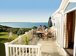 Haven Holidays park home site Devon Cliffs, in Exmouth, where homes start from £17,995.