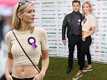05.SEPTEMBER.2015 - LONDON - UK\nCOUNTDOWN PRESENTER RACHEL RILEY AND HER DANCE PARTNER FROM STRICTLY SEEN AT PUPAID 2015 IN PRIMROSE HILL TO SUPPORT PUBLIC AWARENESS OF PUPPY FARMING. RACHEL AND PASHA HAVE BEEN IN A RELATIONSHIP SINCE APPEARING ON THE PROGRAM TWO YEARS AGO. \nBYLINE MUST READ : XPOSUREPHOTOS.COM\n***UK CLIENTS - PICTURES CONTAINING CHILDREN PLEASE PIXELATE FACE PRIOR TO PUBLICATION***\nUK CLIENTS MUST CALL PRIOR TO TV OR ONLINE USAGE PLEASE TELEPHONE 0208 344 2007