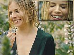EMBARGOED 00.01 - MUST RUN COVER. Sienna Miller Vogue video
