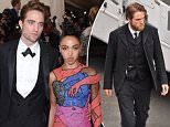 NEW YORK, NY - MAY 04:  Actor Robert Pattinson and recording artist FKA Twigs attend the 'China: Through The Looking Glass' Costume Institute Benefit Gala at the Metropolitan Museum of Art on May 4, 2015 in New York City.  (Photo by Axelle/Bauer-Griffin/FilmMagic)