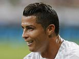 MADRID, SPAIN - AUGUST 29:  Cristiano Ronaldo of Real Madrid reacts during the La Liga match between Real Madrid CF and Real Betis Balompie at Estadio Santiago Bernabeu on August 29, 2015 in Madrid, Spain.  (Photo by Angel Martinez/Real Madrid via Getty Images)