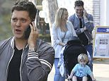 Michael BublÈ and his wife Luisana Lopilato take their son Noah BublÈ and some family members (Michael's mother, Amber Santaga and Michael's grandfather, Mitch Santaga) shopping to The Grove in West Hollywood, California\n\nPictured: Michael BublÈ, Luisana Lopilato, Noah BublÈ\nRef: SPL1116762  040915  \nPicture by: Splash News\n\nSplash News and Pictures\nLos Angeles: 310-821-2666\nNew York: 212-619-2666\nLondon: 870-934-2666\nphotodesk@splashnews.com\n
