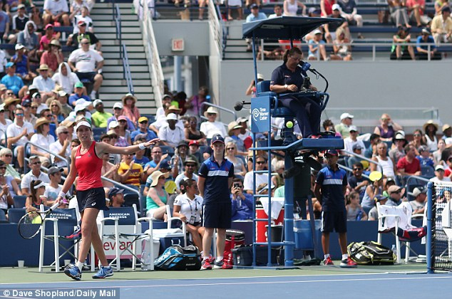 The 24 year-old said she had pulled up well after her three hours and 22 minutes match against Muguruza