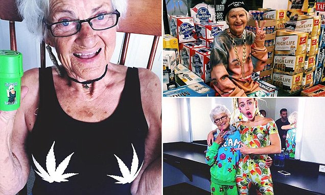 Baddie Winkle who has Instagram fans including Miley Cyrus, Rihanna and Nicole Richie