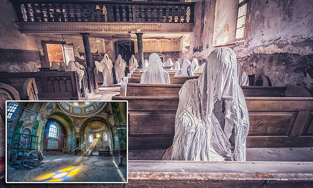 Anna Mika's photography shows abandoned buildings before nature reclaims them