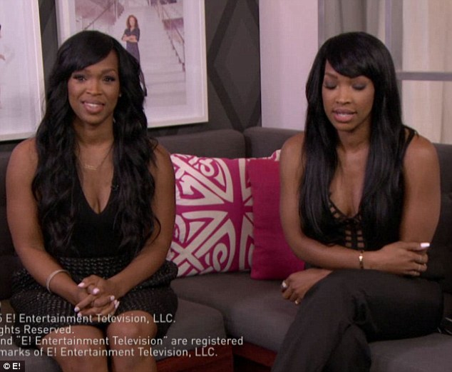 'He's like a little brother': Malika's sister Khadijah Haqq McCray (left) added that they are defensive about the former reality star