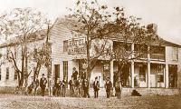 Hotel Belcher, Gatesville, Texas 1900s
