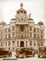 Coryell County Courthouse, Gatesville, Texas 1930s