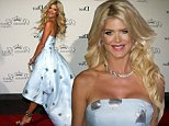 epa04915817 Swedish model and actress Victoria Silvstedt arrives for the 2015 Princess Grace Awards Gala held at the Royal Palace in Monaco, 05 September 2015.  EPA/ARNOLD JEROCKI