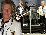Mandatory Credit: Photo by Richard Young/REX Shutterstock (5041604fw)\n Ronnie Wood, Kenneth 'Kenny' Thomas, Rod Stewart\n 'Rock'N' Horespower' event, Hurtwood Park Polo Club, Ewhurst, Surrey, Britain - 05 Sep 2015\n Rock ¿??n¿?? Horsepower ¿?? now in its second year ¿?? is Prostate Cancer UK¿??s flagship music event, put on by Kenney Jones and his wife Jayne to raise much needed funds and awareness for the disease. \n