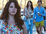 """Picture Shows: Lana Del Rey, Francesco Carrozzini  September 05, 2015\n \n 30-year-old """"Born to Die"""" singer Lana Del Rey and her Italian-born photographer boyfriend Francesco Carrozzini spotted out for lunch at Cafe Habana in Malibu, California. The pair spent most of the summer in Italy before coming back to the US.\n \n Non Exclusive\n UK RIGHTS ONLY\n \n Pictures by : FameFlynet UK © 2015\n Tel : +44 (0)20 3551 5049\n Email : info@fameflynet.uk.com"""