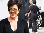Kris Jenner goes to the studio in Los Angeles\n\nPictured: Kris Jenner\nRef: SPL1116935  040915  \nPicture by: Photographer Group / Splash News\n\nSplash News and Pictures\nLos Angeles: 310-821-2666\nNew York: 212-619-2666\nLondon: 870-934-2666\nphotodesk@splashnews.com\n