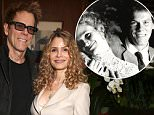 """WEST HOLLYWOOD, CA - MAY 08:  Kyra Sedgwick and Kevin Bacon attend A Luncheon In Celebration Of """"I'll See You In My Dreams"""" at Sunset Tower Hotel on May 8, 2015 in West Hollywood, California.  (Photo by Todd Williamson/Getty Images for Bleecker Street)"""