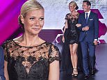 Gwyneth Paltrow as the image of stores Liverpool Fashion Fest Autumn / Winter 2015 in Mexico City  Pictured: Gwyneth Paltrow Ref: SPL1116635  030915   Picture by: Clasos.com.mx / Splash News  Splash News and Pictures Los Angeles: 310-821-2666 New York: 212-619-2666 London: 870-934-2666 photodesk@splashnews.com