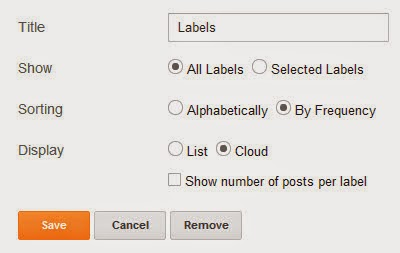 7 Different Label Widget Designs For Blogger