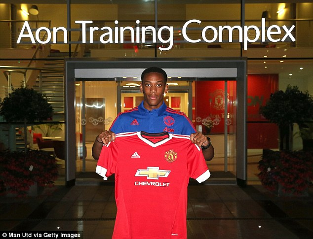 United's £36m capture of Monaco youngster Anthony Martial has been seen as a huge gamble