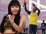 PHILADELPHIA, PA - SEPTEMBER 05:  Nicki Minaj performs onstage during Meek Mill's set at the 2015 Budweiser Made in America Festival at Benjamin Franklin Parkway on September 5, 2015 in Philadelphia, Pennsylvania.  (Photo by Kevin Mazur/Getty Images for Anheuser-Busch)