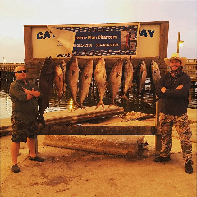 Leaving a legacy: It seems Dan's lessons have continued forth, considering both Pratt brothers recently shared an up-to-date portrait of them standing proudly in front of a slew of sizable fish