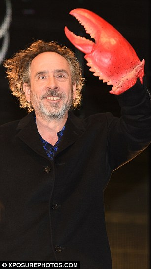 Big name: The American director recently confirmed he's working on a sequel to Beetlejuice