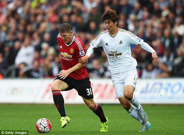 The midfield is vastly improved with Bastian Schweinsteiger and Morgan Schneiderlin adding great depth