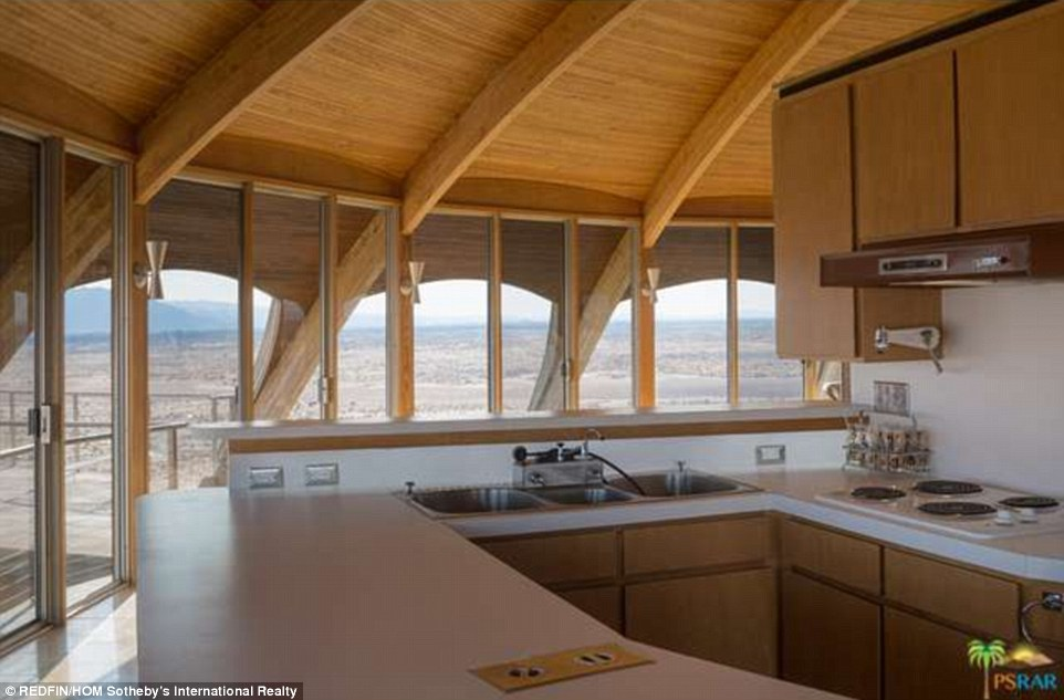 The property was designed in 1968 by California engineer and inventor Vard Wallace