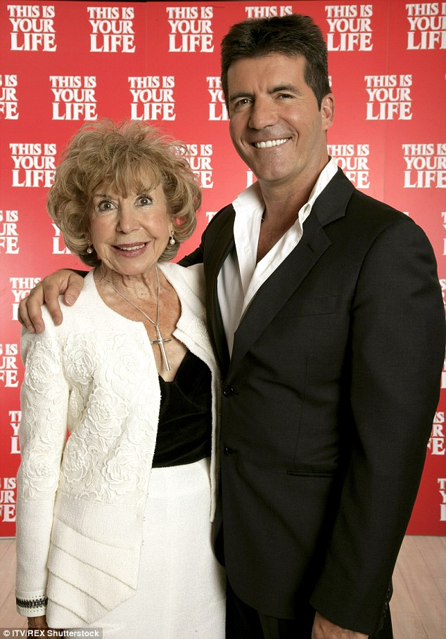 Devastated:Simon's mother, Julie Brett died on July 5 this year aged 89, after being ill for a long time following a stroke she suffered in 2014