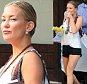 Kate Hudson seen wearing black jean shorts and holding a coffee cup in New York City\n\nPictured: Kate Hudson\nRef: SPL1117259  050915  \nPicture by: RobO/Splash News\n\nSplash News and Pictures\nLos Angeles: 310-821-2666\nNew York: 212-619-2666\nLondon: 870-934-2666\nphotodesk@splashnews.com\n