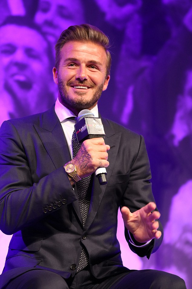 Shooting something else! David Beckham has said he hopes to pursue a new career in acting despite feeling 'pangs of regret' at no longer playing professional football