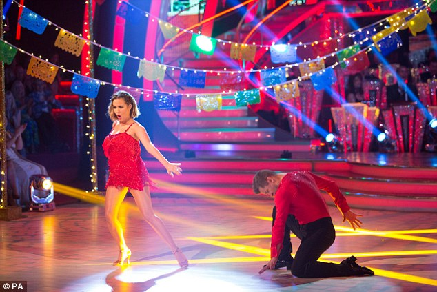 If it's not broken! The TV presenter and Pasha performed her winner's dance from last year's show