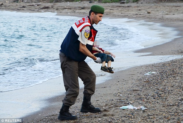 Catalyst: The tragic death of three-year-old Aylan Kurdi who drowned trying to reach the Greek island of Kos from Bodrum, Turkey, brought home the plight of tens of thousands of refugees