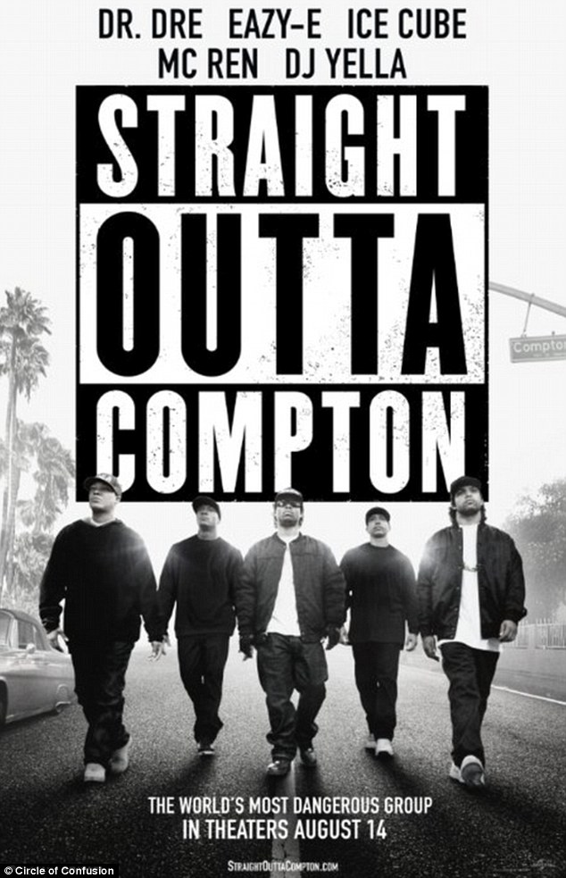 The new faces of the movie: Straight Outta Compton is in cinemas now