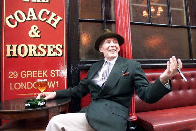 The notorious boozer, O'Toole, launched his return to the London stage at the Coach and Horses