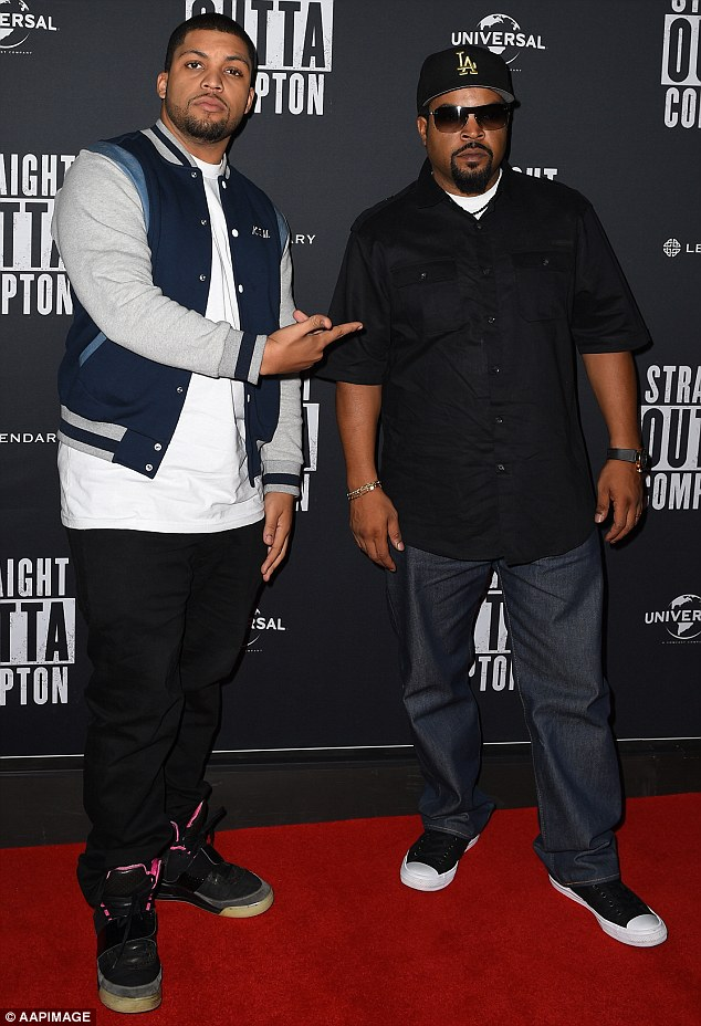'I've been harassed': Straight Outta Compton's O'Shea Jackson Jr, son of legendary N.W.A. hip hop artist Ice Cube, opened up to Daily Mail Australia on Friday about being a victim of police racial profiling