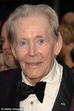 O'Toole in a tux at the 79th Annual Academy Awards