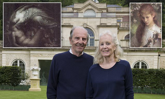 Paintings stolen from the mansion of Esmond Bulmer found by 'The Scream' sleuth