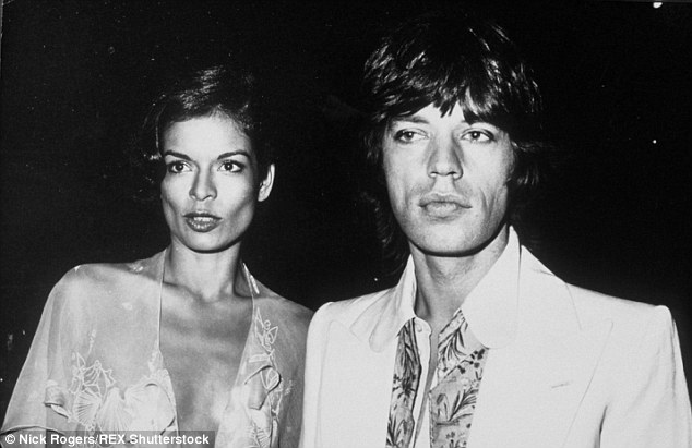 Married: Bianca was wed to Mick Jagger, right, at the time of the affair. The two are pictured here in 1973