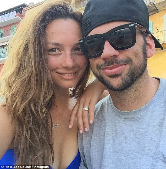 Honeymoon bliss: The couple are celebrating their first few weeks as man and wife, having tied the knot earlier this month at a chateau near Paris