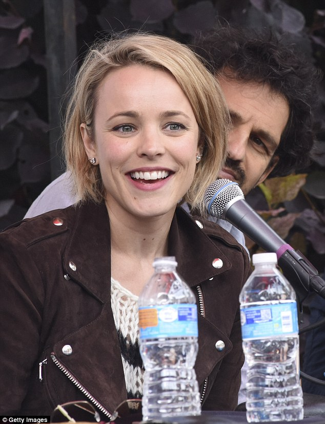Delighted: Rachel McAdams was thrilled to have her latest film Spotlight on the roster at the 42nd Telluride Film Festival on Saturday