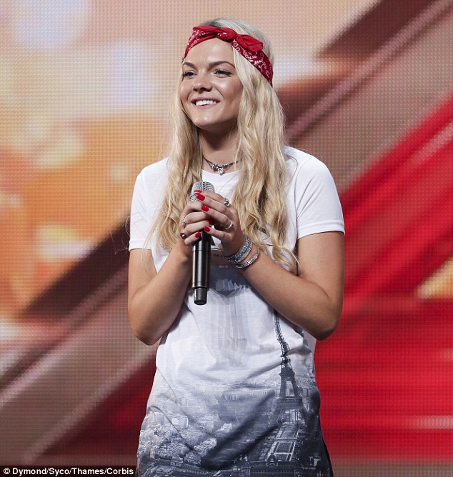 The best of the best: Twenty-two of the 24 X Factor hopefuls that have made it through to Judges' Houses were invited by producers to audition for the show, including show favourite Louisa Johnson (pictured)