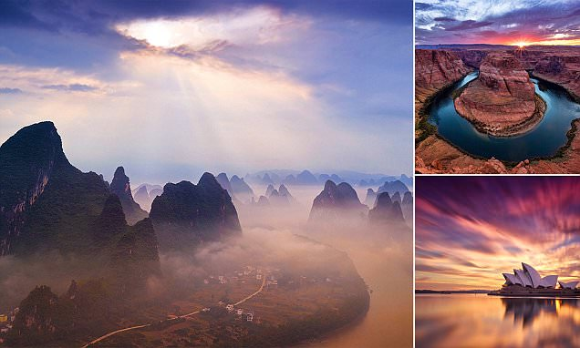 Photographer Paul Reiffer captures he most spectacular sunsets and sunrises