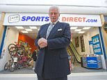 Financial mos   new chairman of Sports Direct Keith Hellawell