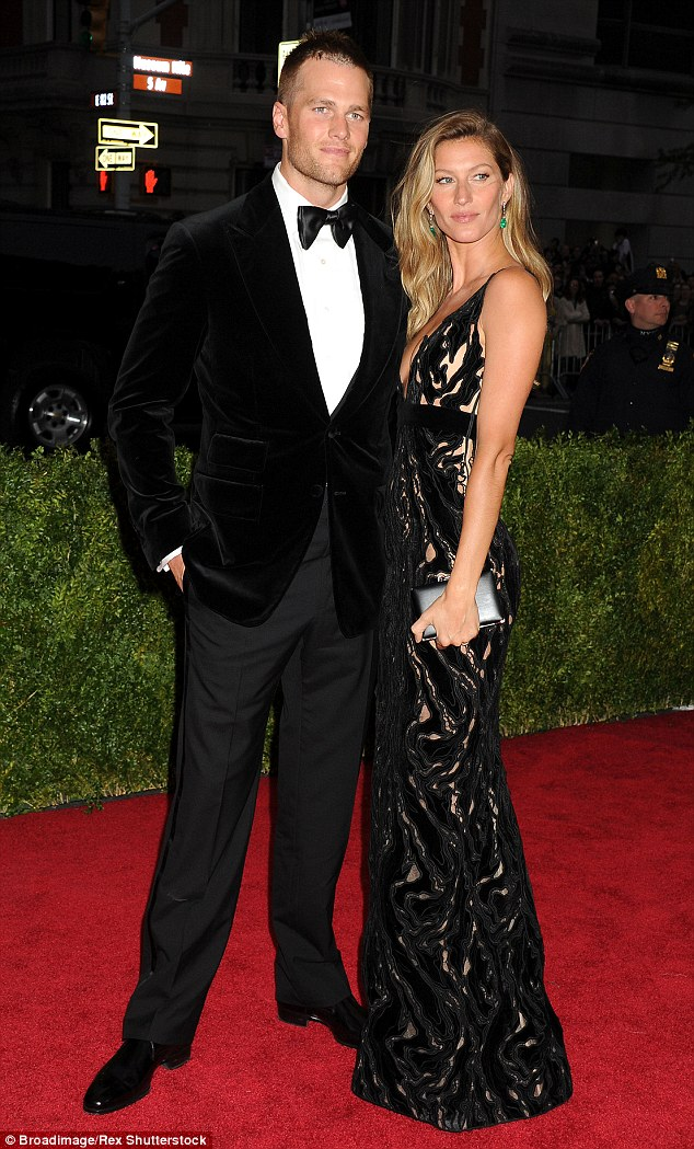 Still strong: The pair, seen here in 2014, faced rumors of divorce in the wake of his alleged misconduct, but it seems all is well with Gisele's latest Instagram post