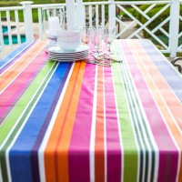 No Sew Easy Care wipeable tablecloth