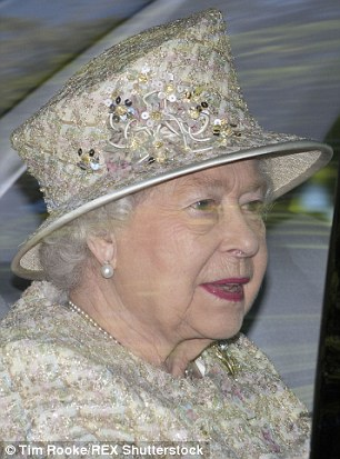 The Queen looked resplendent in a chic cream bouclé jacket with a smart matching hat,