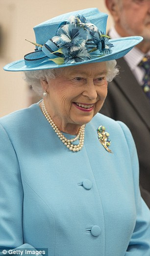 The Queen pictured during a visit to Chadwell Heath Community centre in July