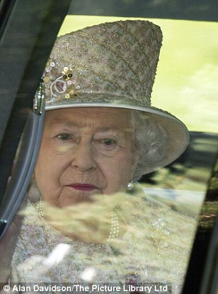 She is set to become the longest reigning British monarch on Wednesday but it was business-as-usual for Queen Elizabeth II today