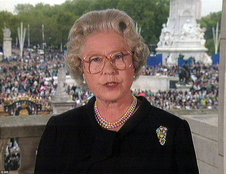 1997: After the death of Princess Diana, the Queen stayed in Balmoral before being forced to return to London. She then paid a moving tribute to her daughter-in-law in a televised address
