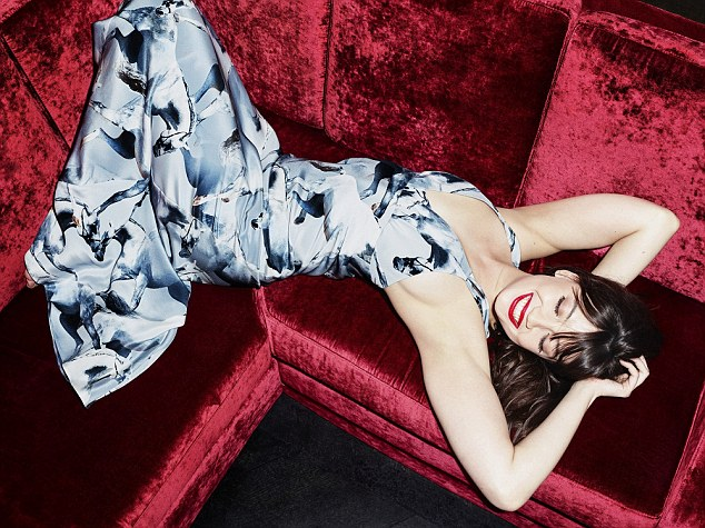 Though Daisy Lowe's famous curves have at times held her back in the world of high fashion, she's now been hailed as the 'perfect girl' for the sexy new clothing line from London Fashion Week designer Giles Deacon