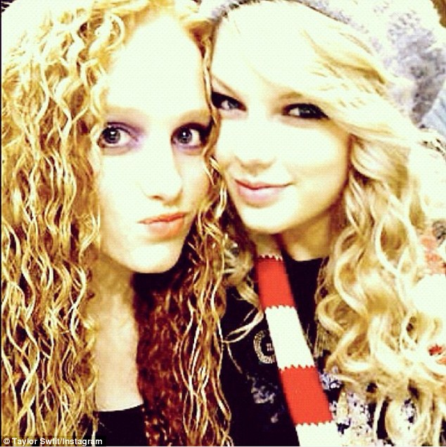 Abigail, pictured with Taylor from their school days, said of their first meeting in English class, 'We just really connected… and ever since then we have been inseparable'